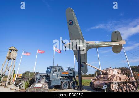 England, Yorkshire, Malton, Eden Camp Military Museum - Stock Photo