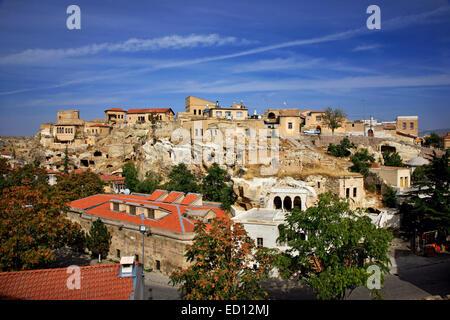 Sinasos ('Mustafapasa') one of the most beautiful towns in Cappadocia, Nevsehir, Turkey - Stock Photo