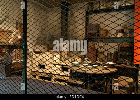 CA02610-00...CALIFORNIA - Chinese Store exhibit at the Marshall Gold Discovery State Historic Park. - Stock Photo