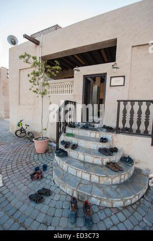 Heritage Village in Dubai, U.A.E - Stock Photo