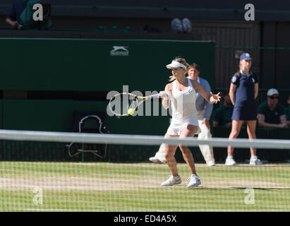 03.07.2014. The Wimbledon Tennis Championships 2014 held at The All England Lawn Tennis and Croquet Club, London, - Stock Photo