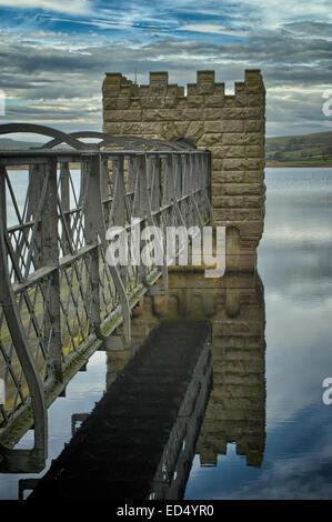 Hury Reservoir in Baldersdale, Teesdale, County Durham - Stock Photo