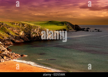 A scene from Durness in Northern Scotland - Stock Photo