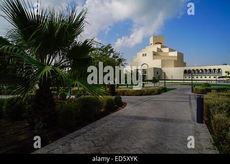 Museum of Islamic Art in Doha, Qatar - Stock Photo