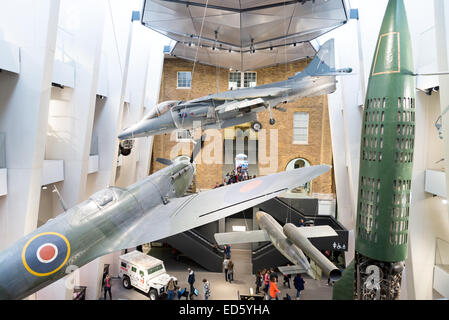 The Imperial War Museum, London, England, UK - Stock Photo