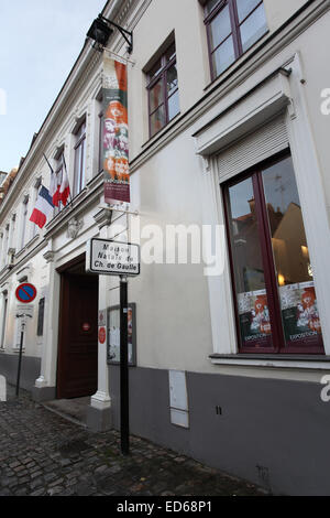 France nord lille charles de gaulle 39 s home museum for 82 rue brule maison lille