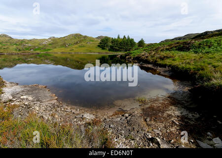 Loch Blain in the Highlands of Scotland. - Stock Photo