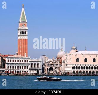 San Macro Church, Venice's Duomo ,Venezia Italy - Stock Photo