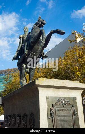 Simon Bolivar in San Francisco CA - Stock Photo