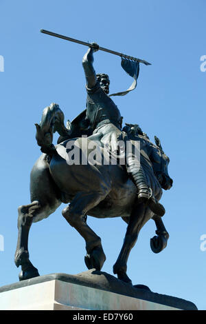 'El Cid Campeador' sculpture, by Anna Hyatt Huntington, Balboa Park, San Diego, California USA - Stock Photo