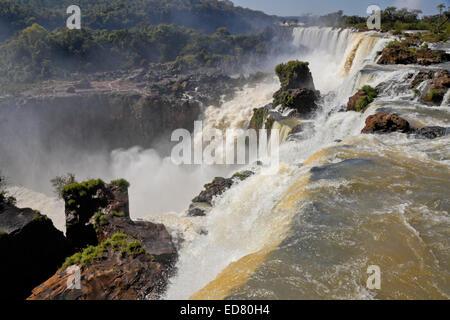 Iguazu Falls, viewed from the Argentina side of the Iguazu River