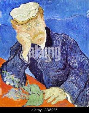 Vincent Van Gogh Dr Paul Gachet Mus E D Orsay Paris Stock Photo 105161164 Alamy