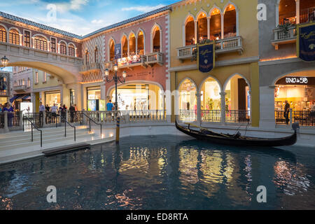 The Venetian hotel in Las Vegas. - Stock Photo