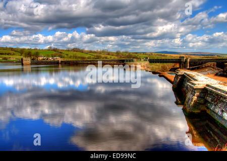Hury Reservoir in Baldersdale, Upper Teesdale, County Durham - Stock Photo