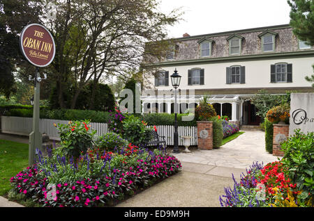 The Oban Inn and Restaurant in Niagara-On-The-Lake, ON, Canada - Stock Photo