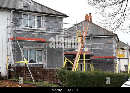 External Wall Insulation For Solid Wall Houses With No