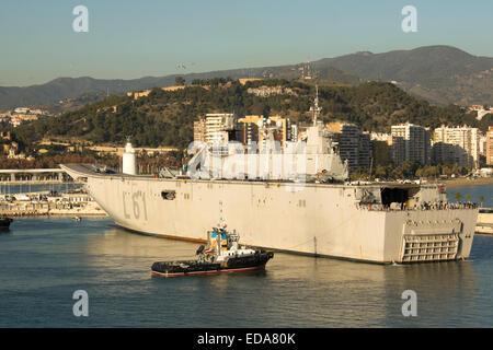 Spanish navy ship Juan Carlos I L61 visiting Las Palmas ...Spanish Aircraft Carrier Juan Carlos