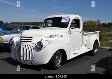 A 1946 Chevrolet Pickup Truck. - Stock Photo