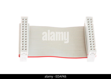 Multipole Connector cable with IDC socket a - Stock Photo