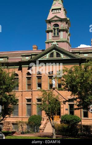 Pitkin County Courthouse Aspen Colorado USA - Stock Photo