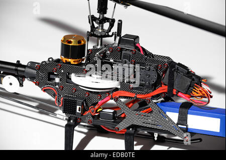 ... Closeup of radio controlled helicopter parts. Without canopy. - Stock Photo & Closeup of radio controlled helicopter parts. Canopy rotor Stock ...