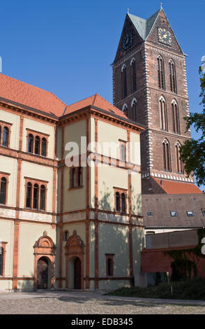 Europe, Germany,   Mecklenburg Western Pomerania, Wismar - Stock Photo
