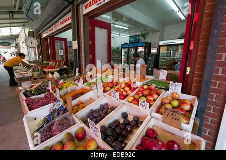 Italian Market, Philadelphia, Pennsylvania - Stock Photo
