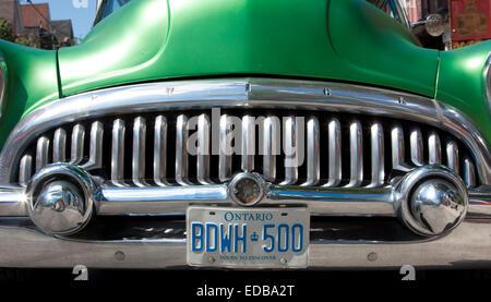 1950s Vintage Buick, Toronto, Canada - Stock Photo