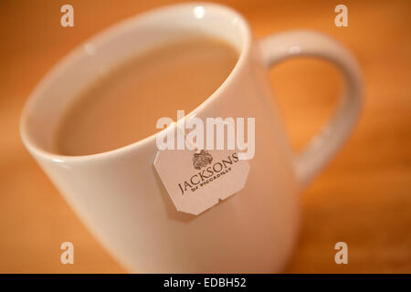 Illustrative image of Jackson's of Piccadilly Tea, an Associated British Foods brand. - Stock Photo