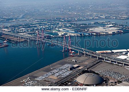 Aerial view of Nagoya, Japan Stock Photo, Royalty Free Image: 66826568 - Alamy