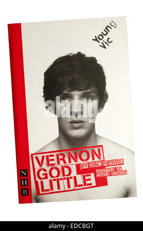 Programme / text for the 2007 production of Vernon God Little by DBC Pierre at the Young Vic. - Stock Photo