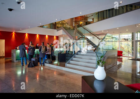 Salford 5 star hotel on the Manchester boarder interior - Stock Photo