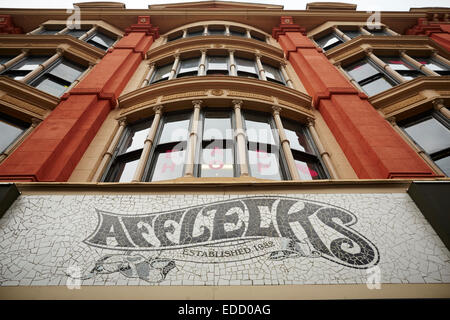 Manchester Afflecks Palace in the Northern Quarter of Manchester UK - Stock Photo