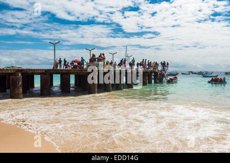 Santa Maria beach in Sal Cape Verde - Cabo Verde - Stock Photo