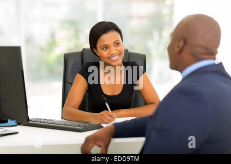 modern business partners having meeting in office - Stock Photo