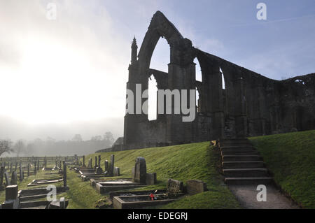Bolton Abbey, Wharfedale, North Yorkshire - Stock Photo