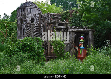 American Visionary Art Museum, Baltimore, Maryland, AVAM, Meditation/Wedding Chapel, by artist Ben Wilson - Stock Photo