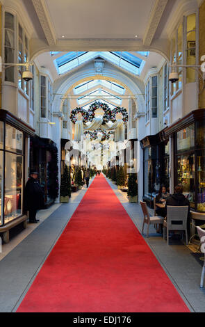 Burlington Arcade, Piccadilly, London, United Kingdom - Stock Photo