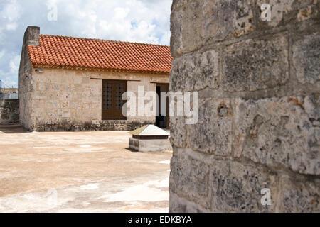 Roof of Castillo de la Fuerza - Stock Photo
