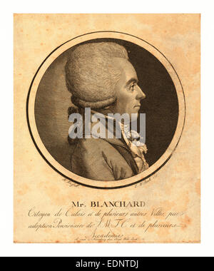 Mr. Blanchard, living in Calais, France - Stock Photo