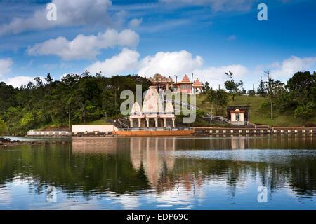 Mauritius, Grand Bassin, Ganga Talao sacred lake temple