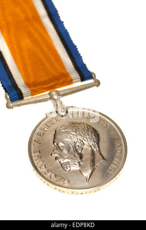 First World War British 1914-18 War medal - Stock Photo