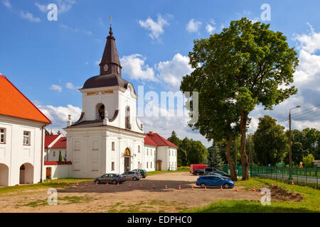The Gate-Belltower in Monastery of the Annunciation in Suprasl, Poland. - Stock Photo
