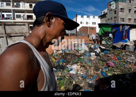 Cambodia People Phnom Penh Slum Slum People Stock Photos