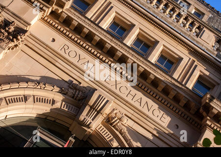 Royal Exchange, Manchester - Stock Photo
