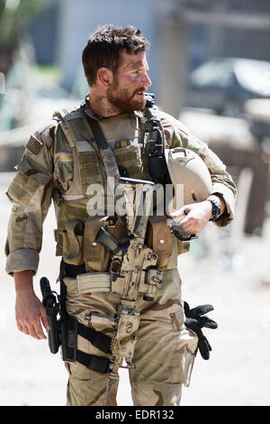 American Sniper is a 2014 American biographical action film directed by Clint Eastwood and written by Jason Dean - Stock Photo