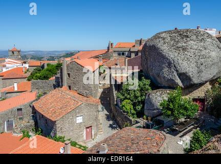 Stone Village, Monsanto, Portugal - Stock Photo