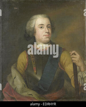 Portrait of William IV, Prince of Orange, Anonymous, c. 1745 - Stock Photo
