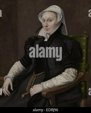 Portraits of Sir Thomas Gresham and Anne Fernely, Anthonis Mor, c. 1560 - c. 1565 - Stock Photo