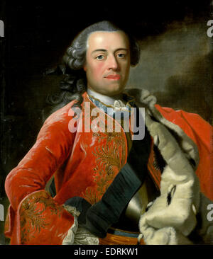 Portrait of William IV, Prince of Orange, Anonymous, c. 1750 - Stock Photo